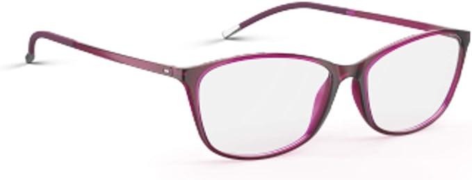 Eyeglasses Silhouette SPX Illusion Full Rim 1563 6118 Cassis 53/14/130 3 piece f