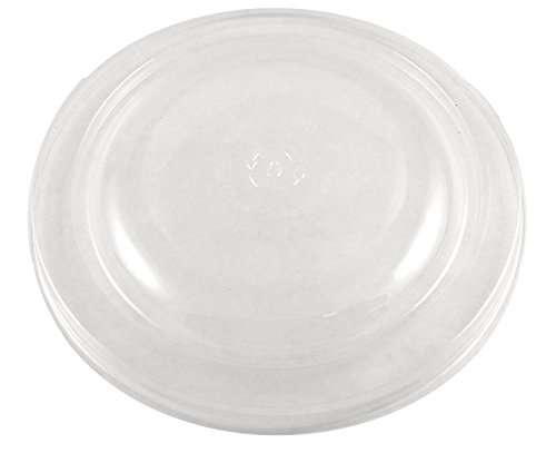 Ingeo Fiber - World Centric's 100% Corn Clear Ingeo PLA LID -For 24-32 Ounce Fiber Bowls (Case of 300)