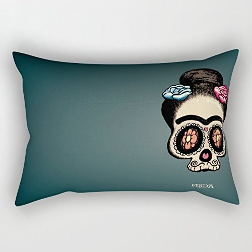 Wedge Corner Slipcover - Skull Pillow Covers 18 X 26 Inches / 45 By 65 Cm For Study Room,lounge,home,kids,home Office,girls With Twice Sides