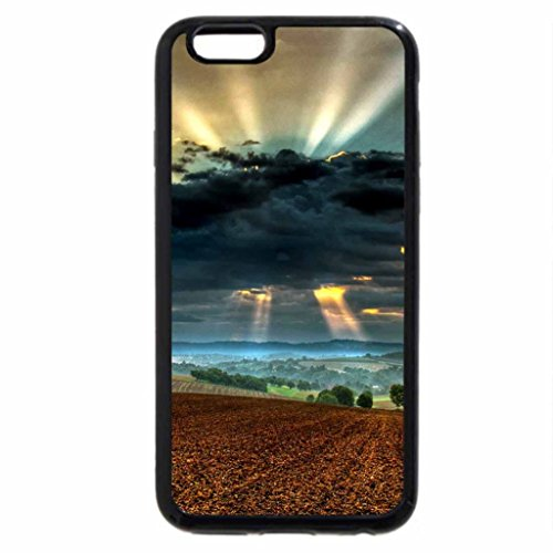 iPhone 6S / iPhone 6 Case (Black) Sun behind the clouds
