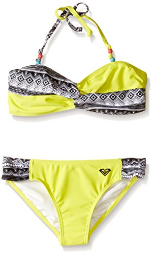 Roxy Big Girls Gypsy Geo Twist Bandeau Set, Sulphur Springs, 16