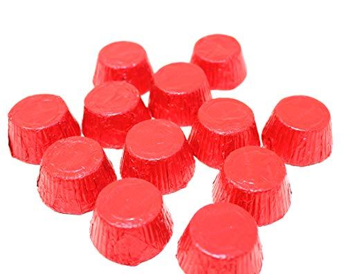 Cups Chocolate Milk Caramel - Red Bulk Milk Chocolate Caramel Cups Made in the USA Bulk Bag 3 Pounds