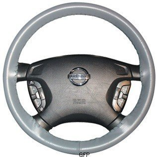 - Universal Size AXX Wheelskins Original One Color Genuine Leather Steering Wheel Covers Color:Yellow by Wheelskins