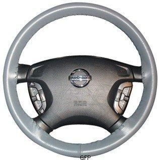 Wheelskins | AXX01-black | 1997 - 2006 | Jeep Wrangler | Wheelskins Leather Steering Wheel Cover | Black
