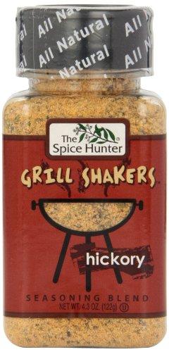- The Spice Hunter Hickory Rub Grill Shaker, 4.3-Ounce Jar