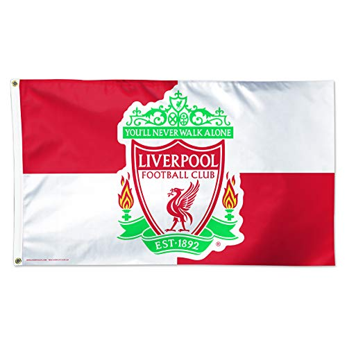 WinCraft Liverpool F.C. Flag 3'x5' - Checkered Flag - Flag Liverpool