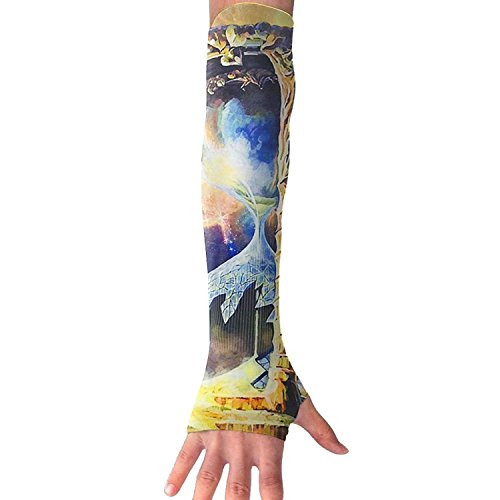 Unisex Galaxy Hourglass Design Sense Ice Outdoor Travel Arm Warmer Long Sleeves Glove by I Like Exercise (Image #5)
