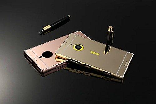 nokia lumia 1520 case damondy luxury metal air aluminum bumper detachable   mirror hard back