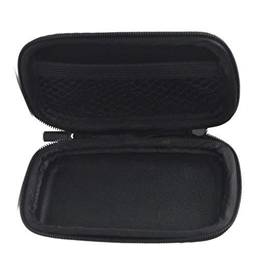 BCP Black Color EVA Hard Case for MP3/MP4 Bluetooth Earphone Earbuds