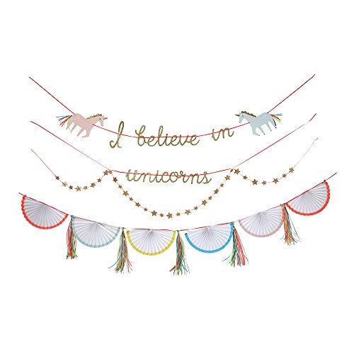 Meri Meri, Unicorn Garland, Birthday, Party Decorations ()