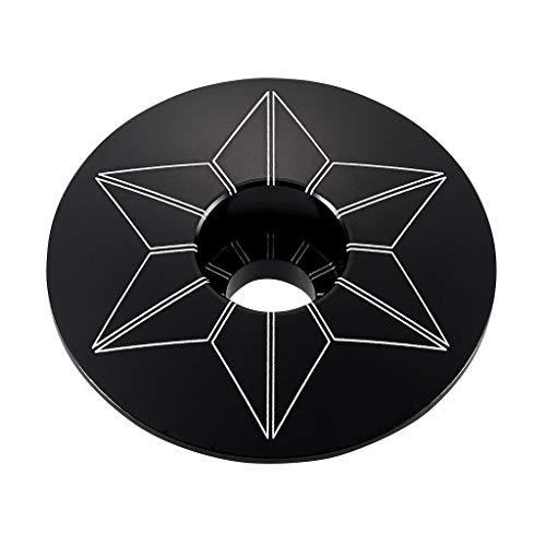 (Supacaz Black Anodized Star Cap)