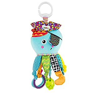 Lamaze Captain Calamari Plush Stroller Toy