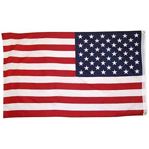 (Kaputar 2x3 USA United States Flag 2x3 House Banner Grommets Super Polyester | Model FLG - 6383)