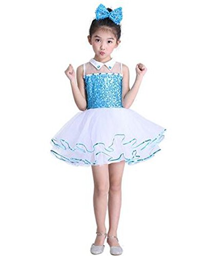 16524d812e318 スパンコール ダンス衣装 ワンピース 衣装 ドレス チュチュスカート 子供 キッズ 女の子 ダンス衣装 ワンピース ジュニア ラテン