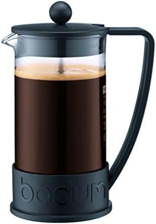 Bodum 10948-01BUS Brazil French Press Coffee and Tea Maker, 12 Ounce, Black