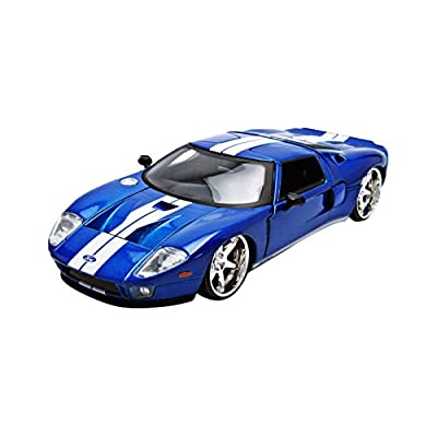 Jada Ford Gt Fast & Furious 7 Movie 1: 24 Diecast Model: Toys & Games