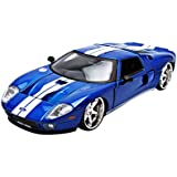 "Ford GT ""Fast & Furious"" Movie Blue 1/24 by Jada 97177"