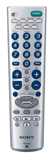 Sony RM-V402 7-Device Universal Remote Commander Universal Remote Control (Discontinued by Manufacturer)