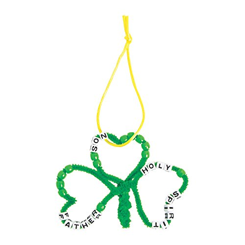 Trinity Beaded Shamrock Craft Kit