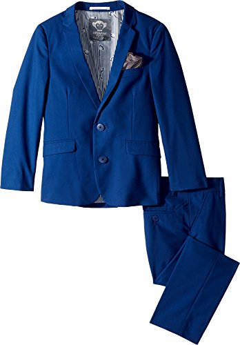 Appaman Kids Baby Boy's Two-Piece MOD Suit (Toddler/Little Kids/Big Kids) French Blue 12 by Appaman Kids