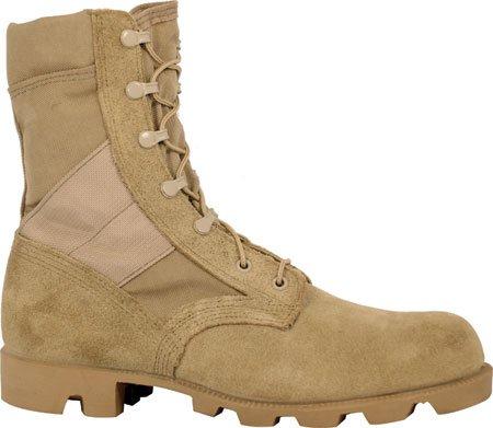 Mcrae Mens Desert Boots In Camoscio Marrone Chiaro / Cordura Hot Boots Militari 7.5 W