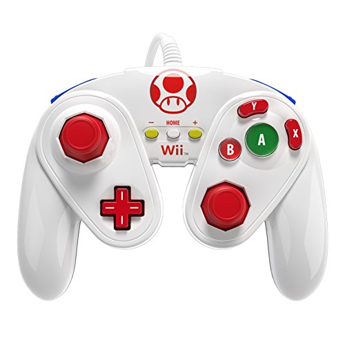 PDP Wired Fight Pad for Wii U - Toad