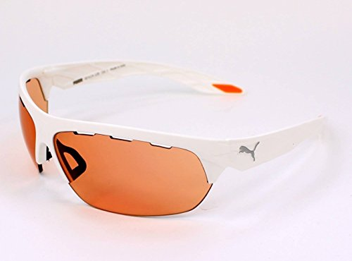 Puma Sonnenbrille (PU0001S) WHITE/ROSE cat.1 + GREY cat.3