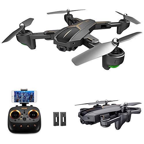 GoolRC- VISUO XS812 Drone con Cámara GPS 4K Gran Angular 5G WiFi FPV Drone Quadcopter Plegable con 2 Baterías