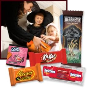 Halloween Hersheys Candy Snack Size Assortment, 100-Count, 36.92-Ounce Bag