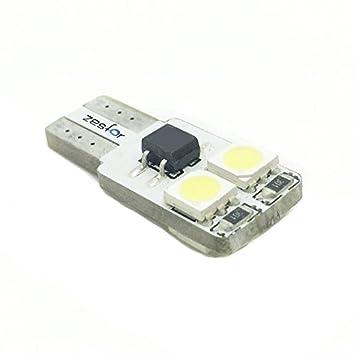 Zesfor® Bombilla LED CANBUS w5w / t10 Extraplana - Tipo 14: Amazon.es: Coche y moto