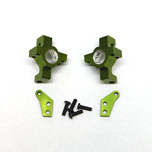 ST Racing Concepts STA31316G CNC Machined Aluminum Steering Knuckle for Wraith/RR10/Deadbolt (Pair) - Steering Machined Knuckles Aluminum