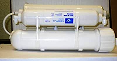 Portable Reverse Osmosis Water Filter System 4 stage 75 GPD Mega size
