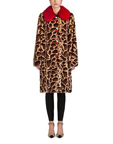 Multicolore Gabbana Femme F0v07ffupu8x0822 Dolce Acrylique Manteau E I7za5xwU