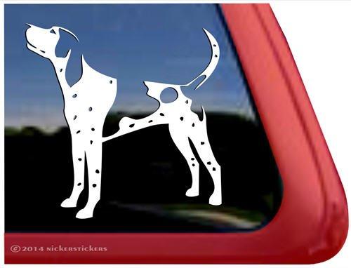 Bluetick Coonhound Vinyl Dog Decal Auto Truck Tablet Laptop Sticker