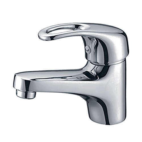 Cheap  Dolity Minimalist Single Handle Hot & Cold Water Mixer Bathroom Sink Faucet..