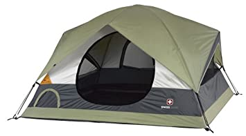 Swiss Gear Grindelwald I Sport 8- by 8-Foot Four-Person Dome Tent  sc 1 st  Amazon.com & Amazon.com : Swiss Gear Grindelwald I Sport 8- by 8-Foot Four ...