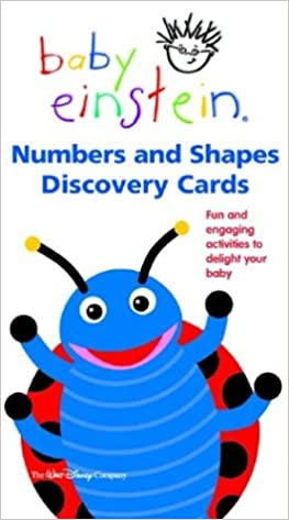 Amazon.com: Baby Einstein: Numbers and Shapes Discovery Cards ...