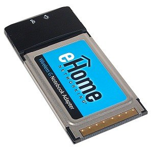 D-link Laptop Network Adapter - D-Link eHome EH101 802.11g Wireless G CardBus Notebook Adapter