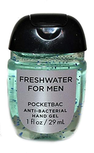 Bath Body Works PocketBac Hand Gel Freshwater For Men by Bath & Body Works (Image #1)