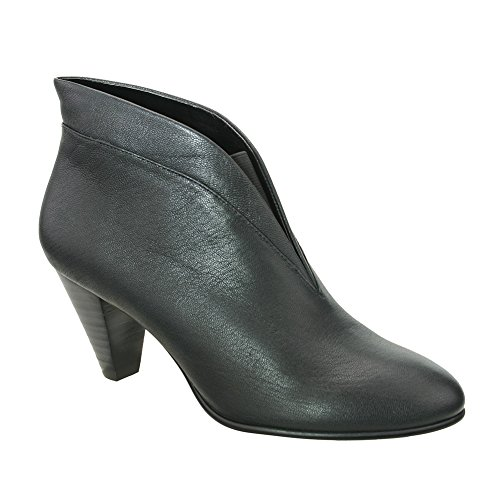 David Tate Women's Natalie Fashion Booties, Black Leather, 9.5 ()