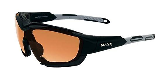 Gafas de sol Maxx 2.0 Marco de plata Negro de espuma con HD ...
