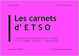 Les carnets d'ETSO (œil sphérique, réglage dioptrique de l'oculaire des instruments subjectifs, frontofocomètre) étude technique des systèmes optiques BTS Opticien Lunetier OL Cours et exercices Optique