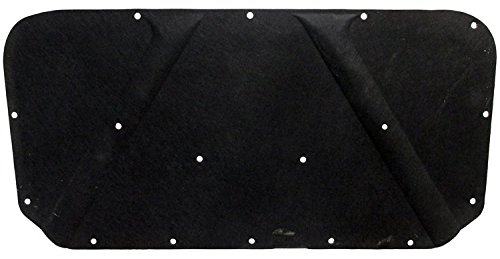 Molded Hood Pad - Repops Automotive Reproductions Hood Insulation Pad Molded Fiberglass 1pc 1967-74 Plymouth/Dodge w Clips