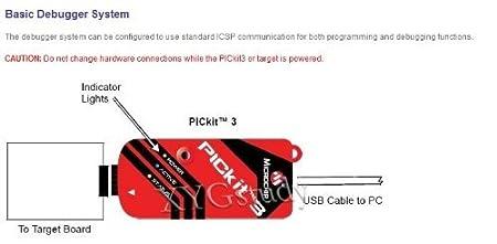 Original PICkit3 Microchip MPLAB PICkit 3 PIC: Amazon.co.uk ... on