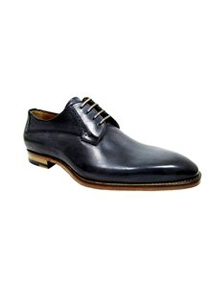 Jose Real Antracite Amberes Plain Laceup Shoe (11)