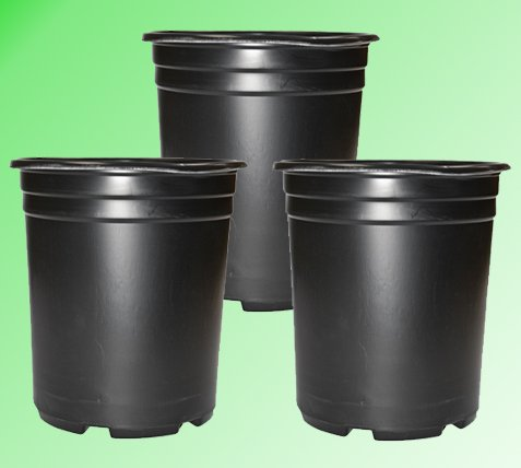 5 Gal. Thermoformed Pot (3 Pack)