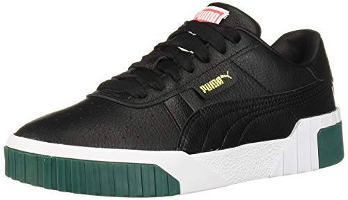 PUMA Women's CALI Sneaker, Black-Teal Green, 10.5 M US ()