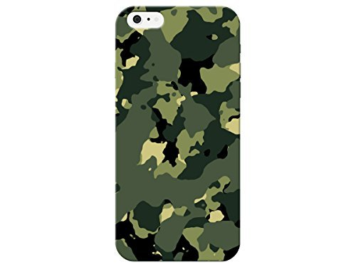 timeless design c49c6 3aef1 Amazon.com: Army Men Camouflage Phone Back Cover For Apple Iphone 6 ...