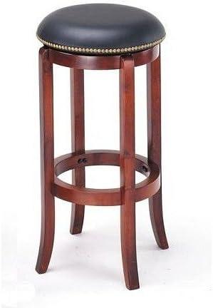 Acme Furniture New Cherry Finish Wood Bar Stool