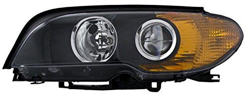 HELLA 354204191 BMW 3 Series E46 Driver Side Headlight (Hella Left Headlight Assembly)